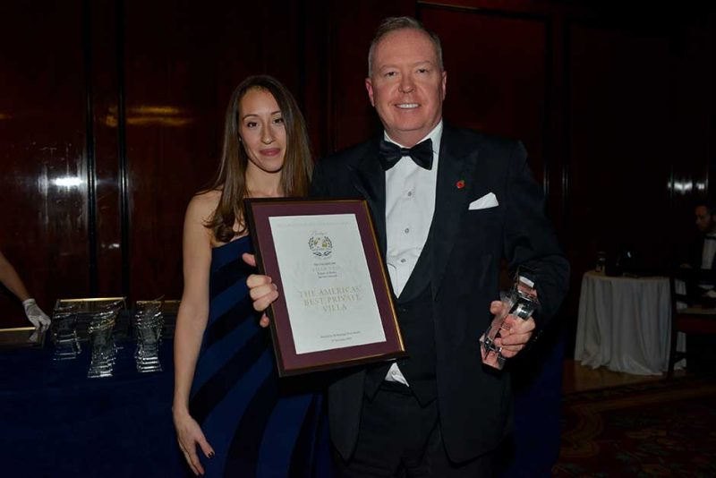 Villa Neo scoops America's Best Private Villa Award