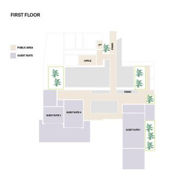 Villa Neo First Floor Plan