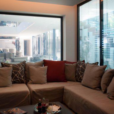Villa Neo sofas in the Family Room